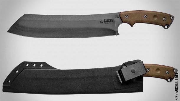 TOPS Knives выпустила оригинальный утилитарный нож-мачете TOPS El Chete Knife