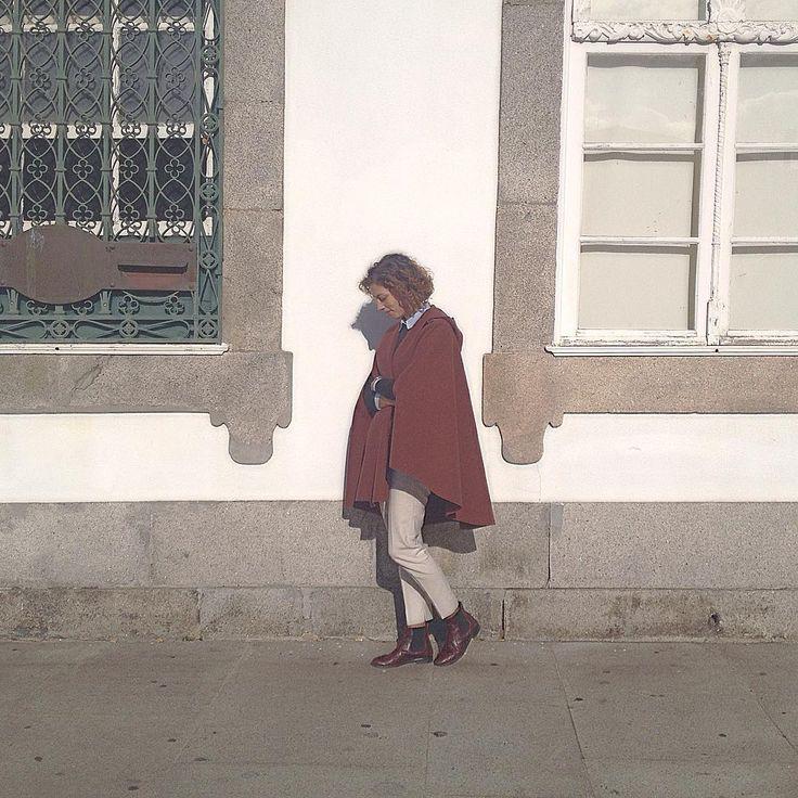 #wintercoat #wintercape #overcoat #woolcoat #woolcape #wool #handmade…