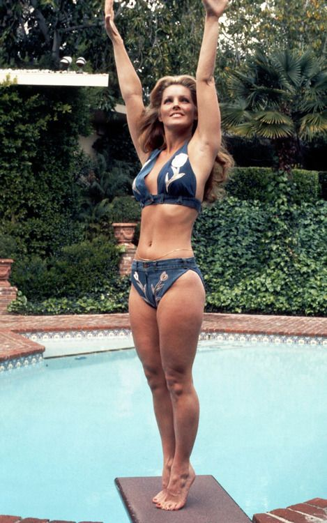 Priscilla Presley. Notice No Plastic surgery on the thighs? 100% Natural!!! YES! Love the 70's!!