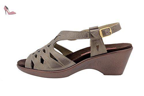Chaussure femme confort en cuir Piesanto 2855 sandale semelle amovible  comfortables amples - Chaussures piesanto ( Partner-Link)   Chaussures  PieSanto ... f433d85231aa