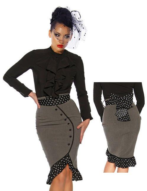 vêtements gothiques et pin up grande taille (5)