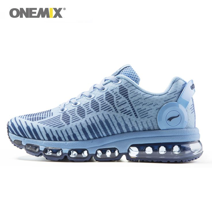 Onemix women's running shoes breathable sports sneakers vamp outdoor jogging shoes light female walking sneakers in blue  #Affiliate
