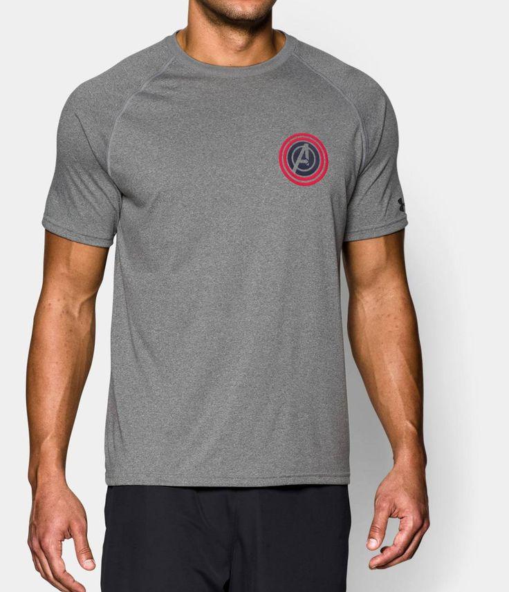 Men's Under Armour® Alter Ego Avengers Captain America T-Shirt | Under  Armour US