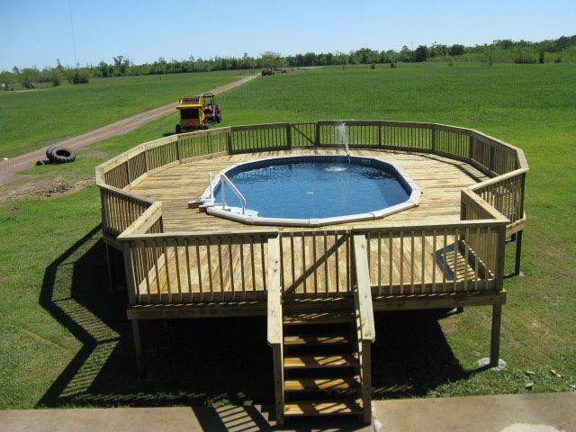 Die besten 25 ovales oberirdisches schwimmbecken ideen for Ovaler pool garten