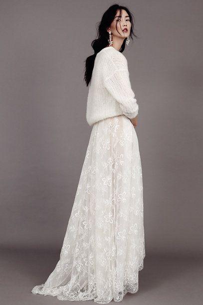 Kaviar Gauche - wedding collection 2015  Für eine Winterhochzeit ? Traumhaft !