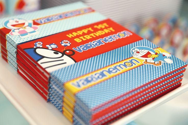 Doraemon Theme Hershey chocolate bars