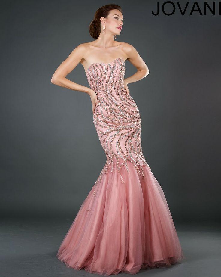26 best Jovani Floor Length Gowns <3 images on Pinterest | Bridal ...