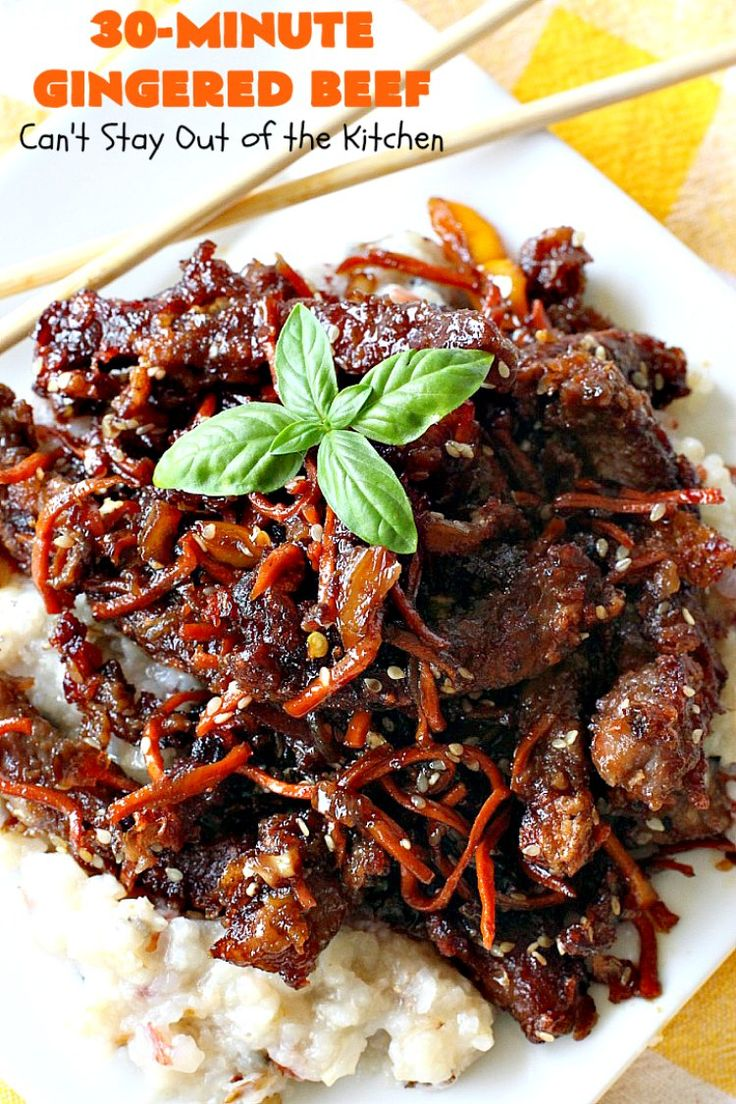 Best 25+ Ginger beef ideas on Pinterest | Ginger beef ...
