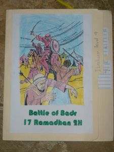 Battle of Badr Lapbook