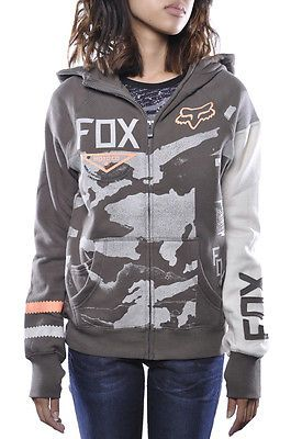 Fox-Racing-Machina-Zip-Up-Hoody-Motocross-Titanium-Sweater-Jacket-Womens-Multi
