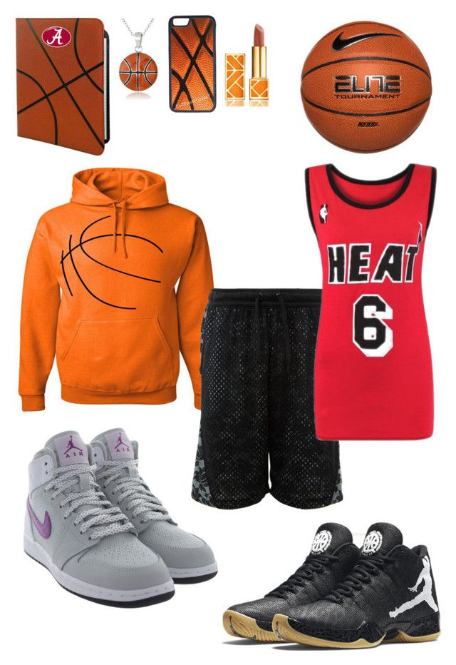 """""""Basketball...make it 2 ur life"""" by malumasbaby on Polyvore featuring Mode, Mondevio, CellPowerCases, GameWear, Tory Burch, NIKE, CO und Retrò"""