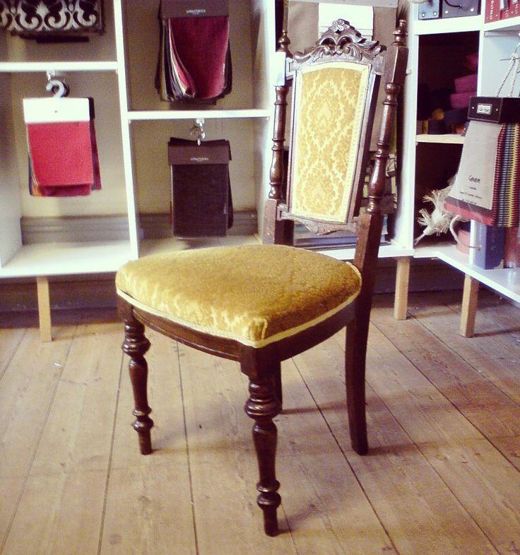 Nyrenässans-stol före. •Chair before
