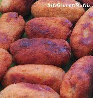 CROQUETAS SIN GLUTEN (CON PANIFICADORA)