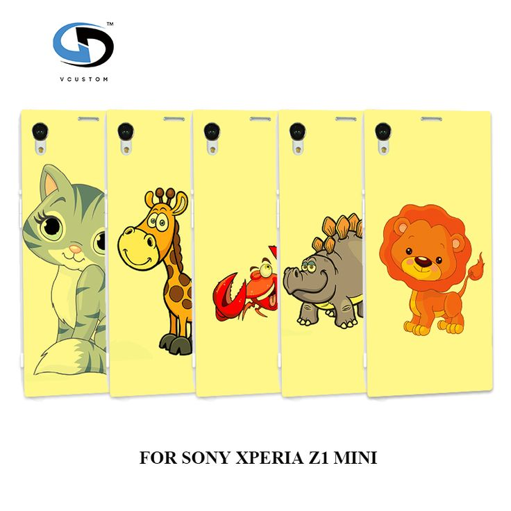 Popular Cartoon Hybrid Design Plastic Phone Back Cover For Sony Xperia Z1 Compact(sony z1 mini) Case,Hard Back Cover Skin Shell #Affiliate