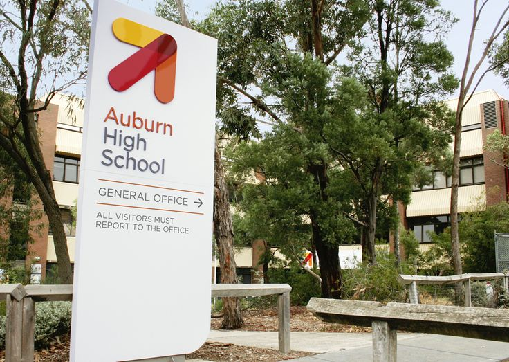 Auburn High School is a contemporary secondary school, formally known as Hawthorn High. Davidson was appointed the task of embedding the school's values and direction into their new brand. Davidson delivered on, not just a new visual identity, but a comprehensive signage package with the hero being the enormous 5 metre sign on the exterior of the gymnasium.