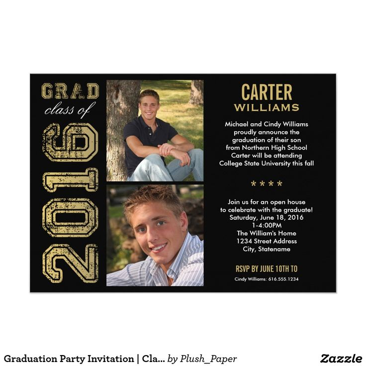 45 best Graduation Invitations Galore images on Pinterest | Texts ...