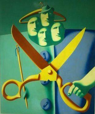 Oleg Tselkov (b1934 Moscow, USSR); based in France.