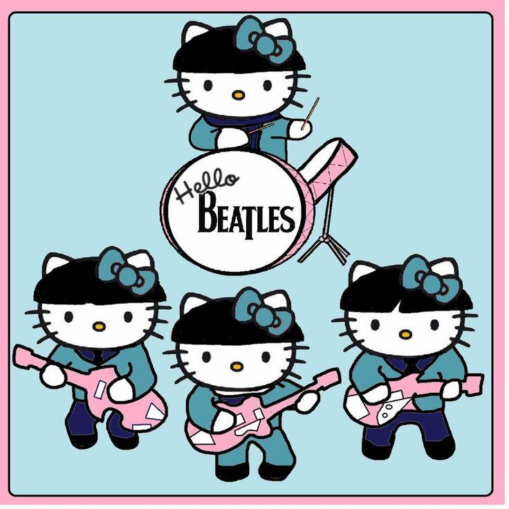 hello beatles by derrico13 on deviantart hello kitty pinterest hello beatles hello kitty. Black Bedroom Furniture Sets. Home Design Ideas