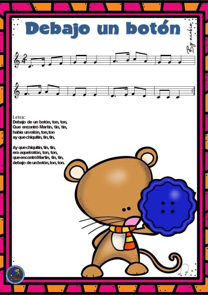 Cancionero Infantil Para Cantar En Clase 10 Cancionero Infantil Letras De Canciones Infantiles Musica Preescolar