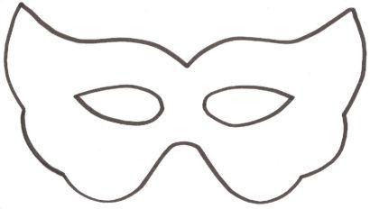 máscaras de carnaval para imprimir e decorar