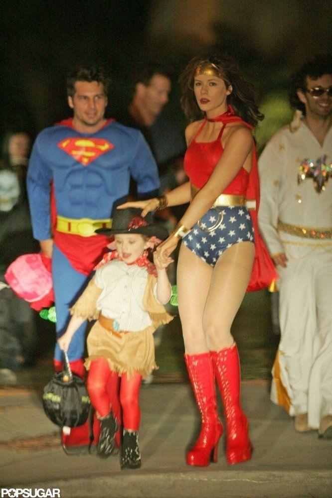 Celebrity Family Halloween Costumes