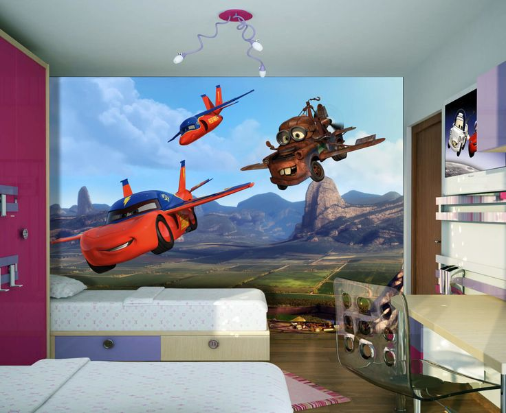Disney Cars Wall Decor Mural By WallandMore! Great For Children Room. Itu0027s  Time To Turn Your Childu0027s Space Into A Room Of Wonder, Color And Beauty. Part 36