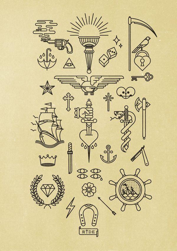 La numerografía tipo tatuaje de Bnomio