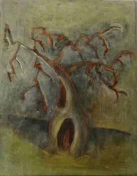 Yellow Olive Tree by Maya Brittain