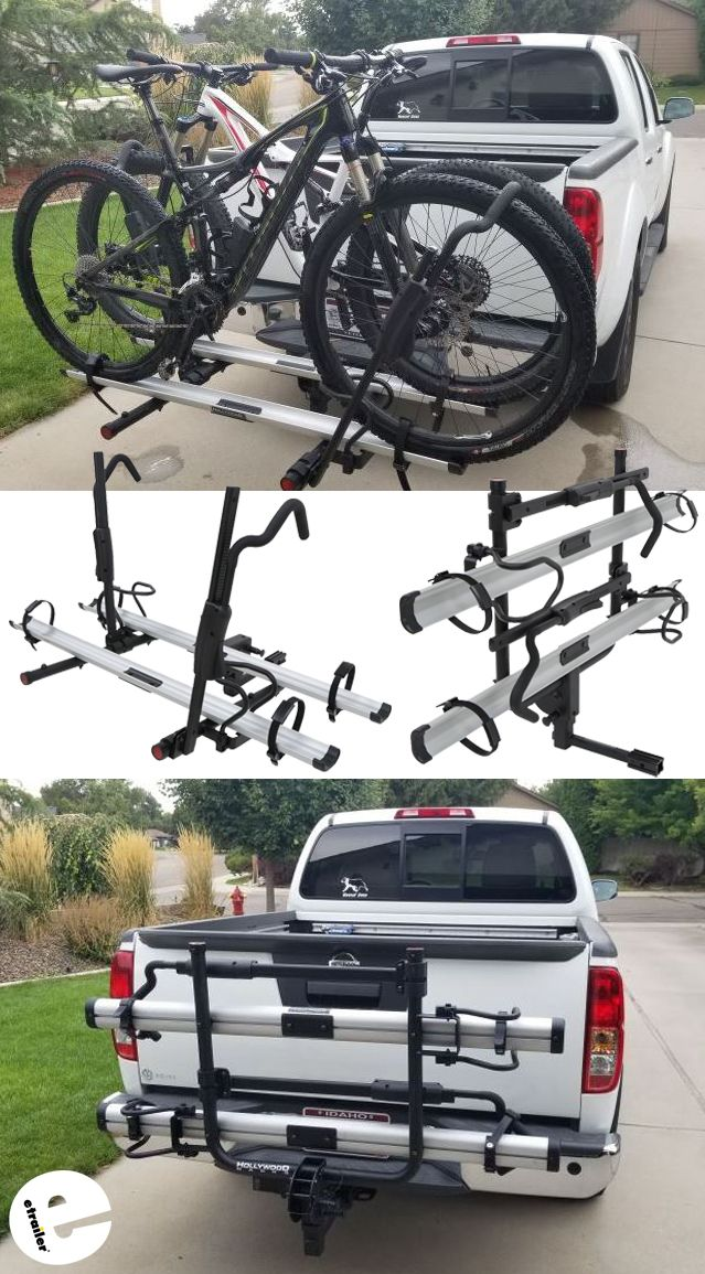 Hollywood Racks Trs 2 Bike Platform Rack 1 1 4 And 2 Hitches