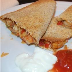 Shrimp Quesadillas Allrecipes.com: Fish Seafood, Quesadillas Recipes, Shrimp Quesadillas, Quesadilla Recipes, Cooking Seafood, Quesadillas Yummy, Quesadillas Allrecipes Com, Allrecipes Com Yummy, Favorite Mexicans