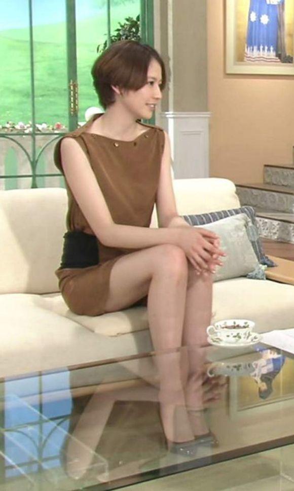 女優長澤まさみの超美脚
