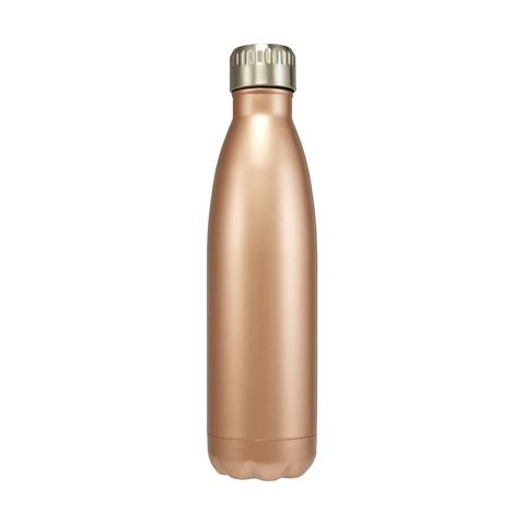 500ml Insulated Bottle - Rose Gold Look | Kmart