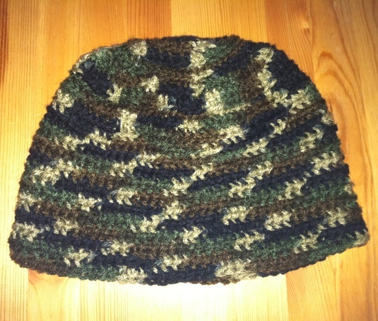 Mens Crochet Camo Hat: Crochet Ideas, Men'S, Crocheted Hats, Camo Hats, Crochet Crafts, Hat Camohats