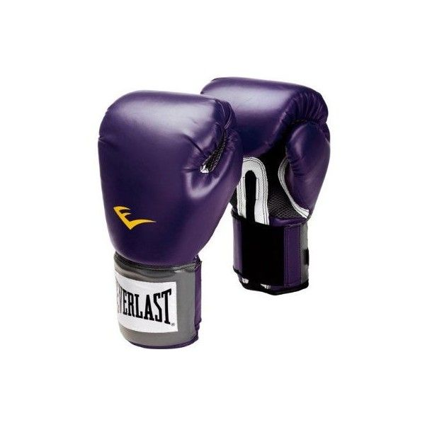 Everlast Womens Pro Style Training Boxing Gloves Black Orchid