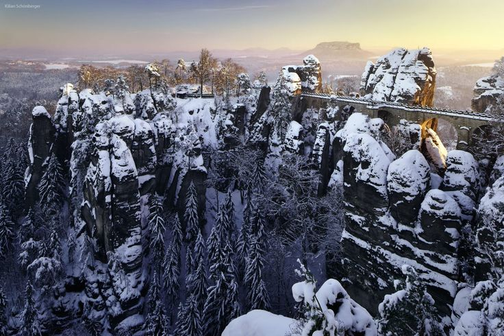 "Saxon Switzerland during Winter is spectacular. Germany <a href=""http://instagram.com/kilianschoenberger/"">@kilianschoenberger I N S T A G R A M</a>"
