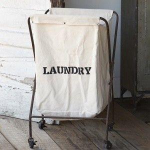 Rolling Cloth Laundry Bin