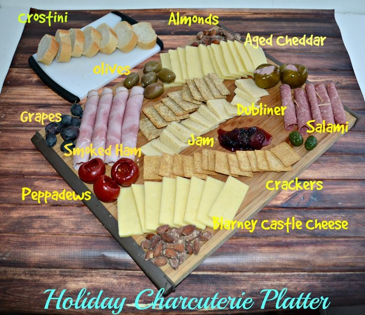 Learn how to make the perfect Holiday Charcuterie Platter with cured meats, cheeses, fruits, nuts, and more!