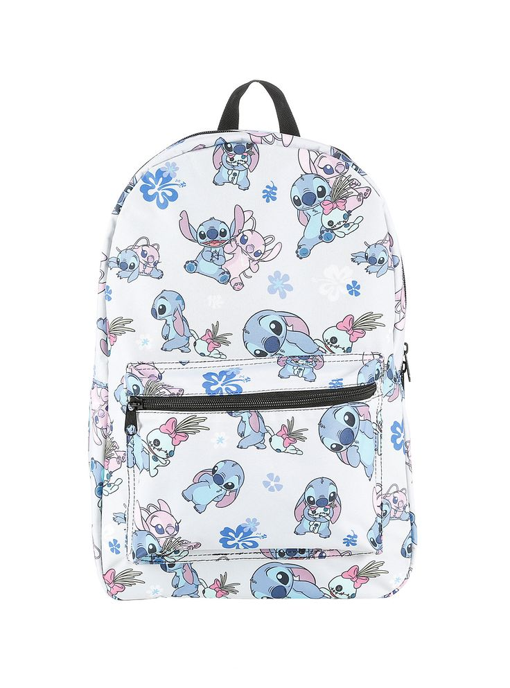 Disney Lilo & Stitch Stitch Scrump & Angel Backpack, , alternate
