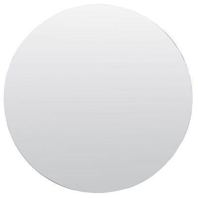 Stort rundt speil, klart glass. evt med svart/gull kant.  Mirror speil Ø110, klar. Speil hos ROOM21.no (1025546)