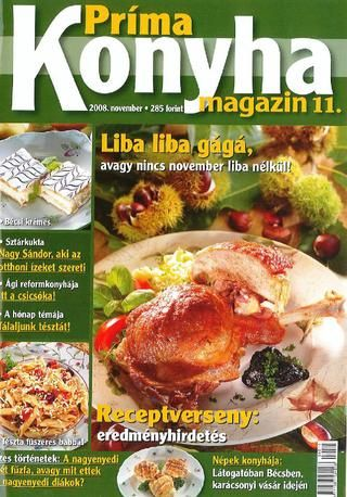 Prima konyha magazin 2008 11 november
