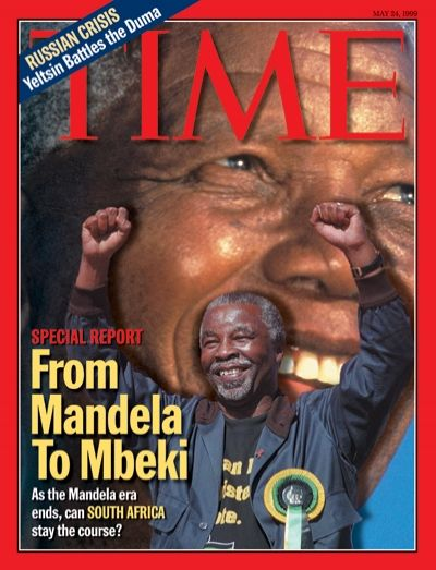 As the Mandela era ends, can South Africa stay the course? Time magazine 1999
