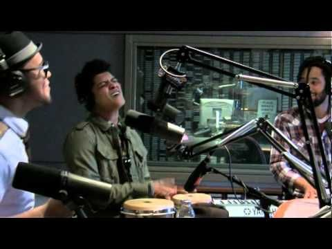 """Bruno Mars - """"More Today Than Yesterday"""" - The Big Show on 95.5 'PLJ - YouTube  love Bruno so much, he has so much feeling."""