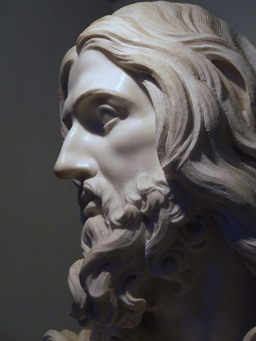 """""""Salvator Mundi"""", Gian Lorenzo Bernini."""