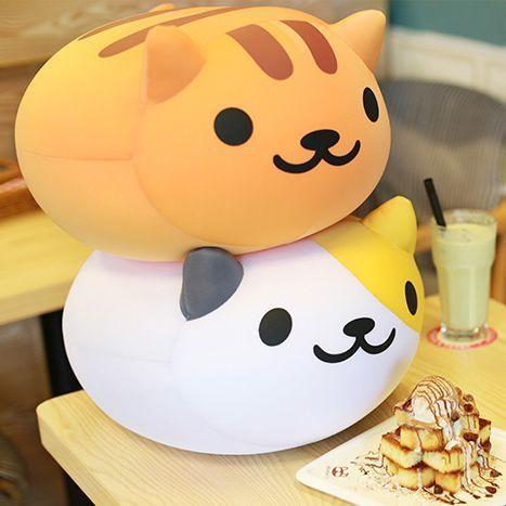 "Cute cartoon cat pillow SE9149   Coupon code ""cutekawaii"" for 10% off"