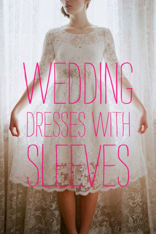Roundup: Wedding Dresses With Sleeves « A Practical Wedding