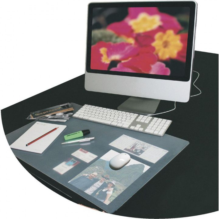 Clear Plastic Desk Protector Office Depot Diy Stand Up Desk