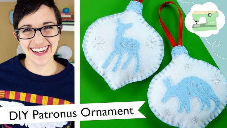 DIY Custom Patronus Ornament - Harry Potter Christmas Decoration | @laur...