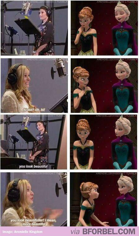 """Behind The Scenes Of """"Frozen""""…"""