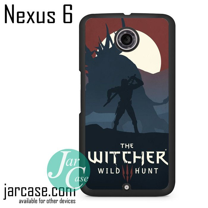 The Witcher 3 Game Phone case for Nexus 4/5/6