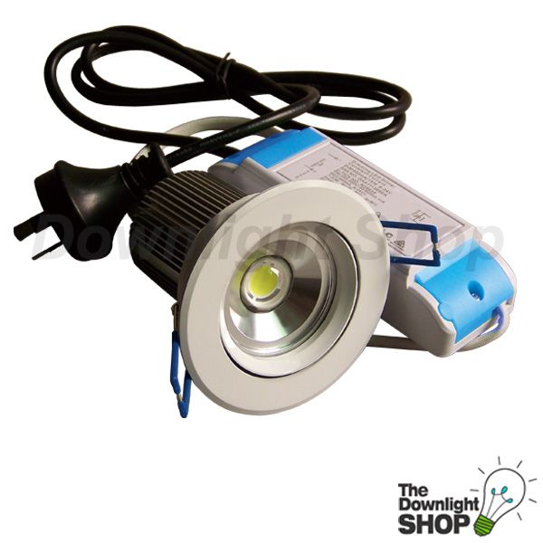 VIVID MR16 10.5W LED DOWNLIGHT KIT (WHITE) COOL WHITE LIGHT -  $49.95 SAVE: 29% OFF